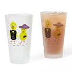 Easter Sunday Chick Drinking Glass