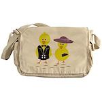 Easter Sunday Chick Messenger Bag
