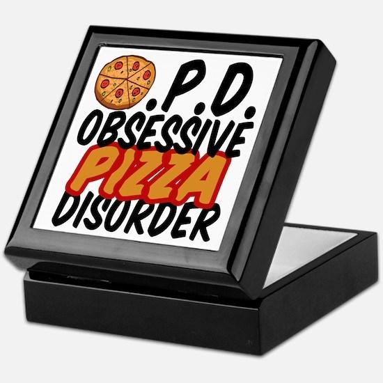 Funny Pizza Keepsake Box
