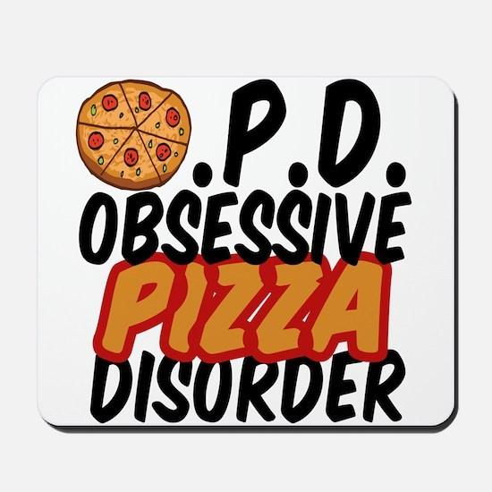 Funny Pizza Mousepad