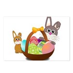 Easter Eggs with Rabbit Baby Postcards (Package of