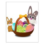 Easter Eggs with Rabbit Baby Poster Design