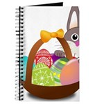Easter Eggs with Rabbit Baby Journal