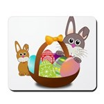 Easter Eggs with Rabbit Baby Mousepad