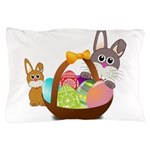 Easter Eggs with Rabbit Baby Pillow Case