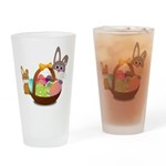 Easter Eggs with Rabbit Baby Drinking Glass