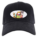 Easter Eggs with Rabbit Baby Baseball Cap