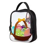 Easter Eggs with Rabbit Baby Neoprene Lunch Bag