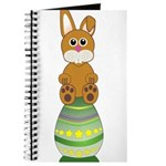 Easter Eggs with Rabbit Journal