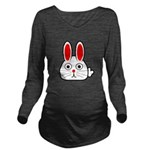 Spring Bunny Long Sleeve Maternity T-Shirt
