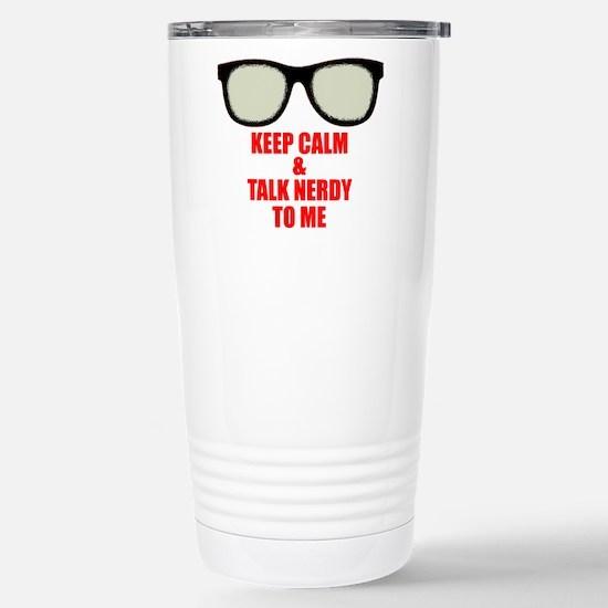 Nerdy_Simple_final Travel Mug