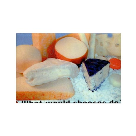 What Would Cheeses Do? Rectangle Magnet