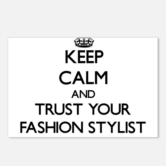 Keep Calm and Trust Your Fashion Stylist Postcards