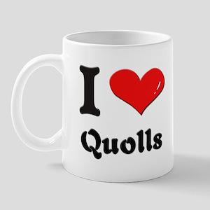 I love quolls  Mug
