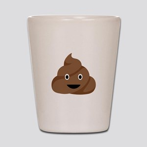 Poop Emoticon Shot Glass