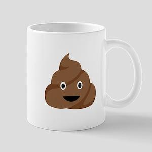 Poop Emoticon Mugs