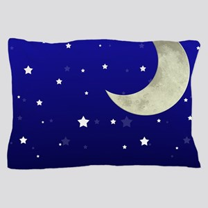 Moon and Stars Pillow Case