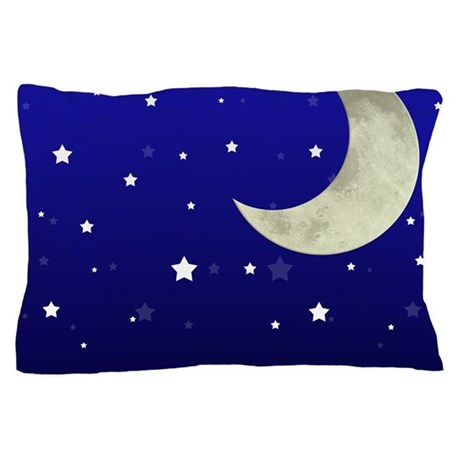 Moon And Stars Pillow Case By Listing Store 5474996