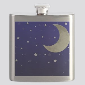 Moon and Stars Flask