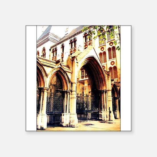 london abbey 2 Sticker