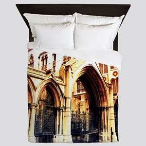 london abbey 2 Queen Duvet
