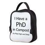 Compost PhD Neoprene Lunch Bag