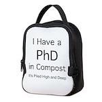 Compost PhD Neoprene Lunch Bag