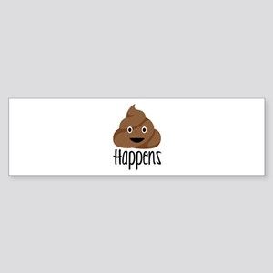 Crap Happens Bumper Sticker