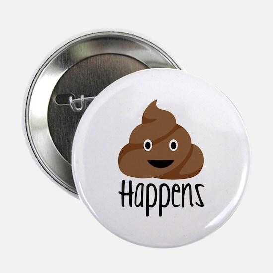 """Crap Happens 2.25"""" Button"""