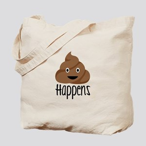Crap Happens Tote Bag