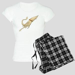 Realistic Squid Women's Light Pajamas