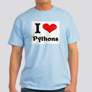 I love pythons Light T-Shirt