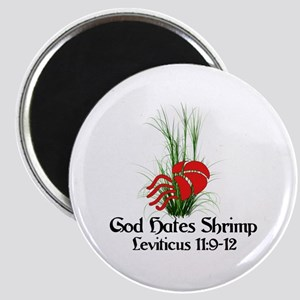 God Also Hates Shrimp Magnet