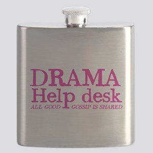 DRAMA help desk all good gossip is shared Flask