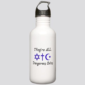 Dangerous Cults Stainless Water Bottle 1.0L