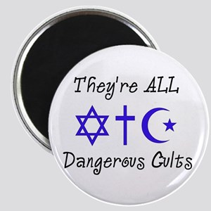 Dangerous Cults Magnet