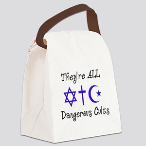 Dangerous Cults Canvas Lunch Bag