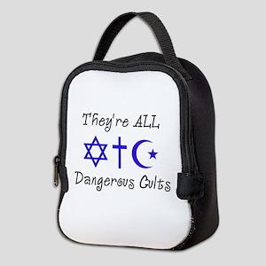 Dangerous Cults Neoprene Lunch Bag