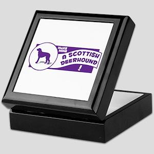 Make Mine Deerhound Keepsake Box