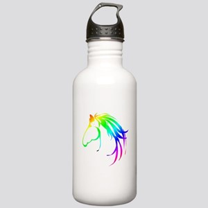 Rainbow Multicolored Stainless Water Bottle 1.0l