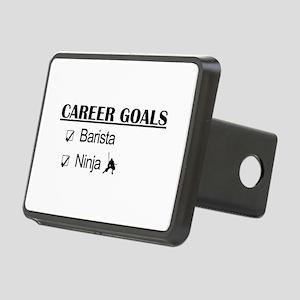 Barista Ninja Career Goals Rectangular Hitch Cover