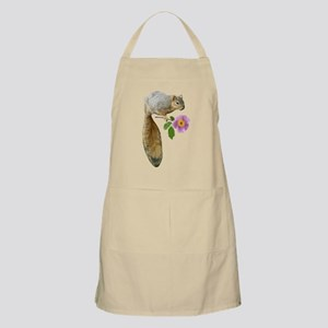 Squirrel with Flower Apron