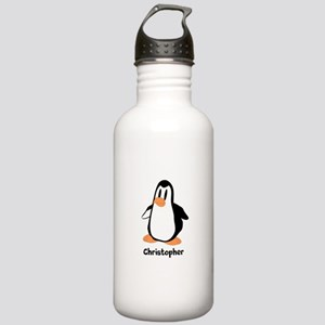 Personalized Penguin Design Sports Water Bottle