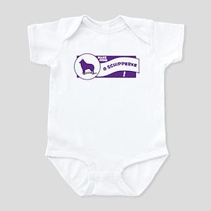 Make Mine Schipperke Infant Bodysuit