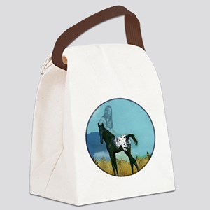 Nez Perce Pony Canvas Lunch Bag