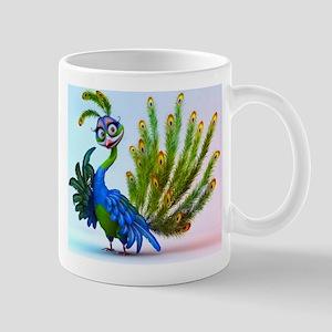 Prissy Peacock Mug