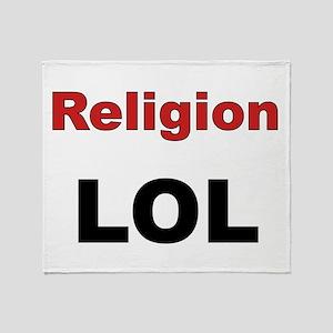 Religion LOL Throw Blanket