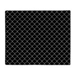 Chain Link Fence Throw Blanket