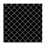 Chain Link Fence Tile Coaster