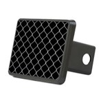 Chain Link Fence Rectangular Hitch Cover